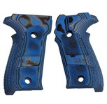 Blue Checkered G10 GMascus P226 Grip Set